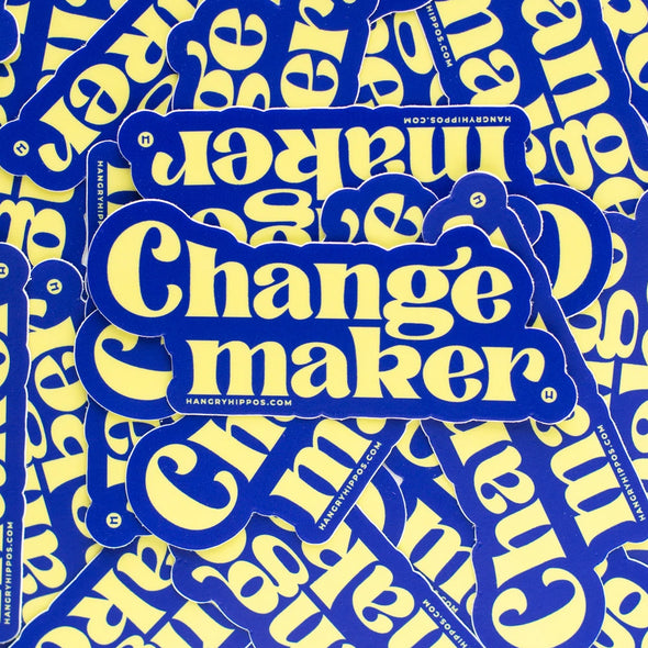 Changemaker Sticker