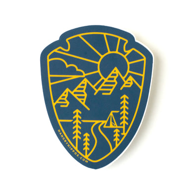 Adventure Arrowhead Sticker