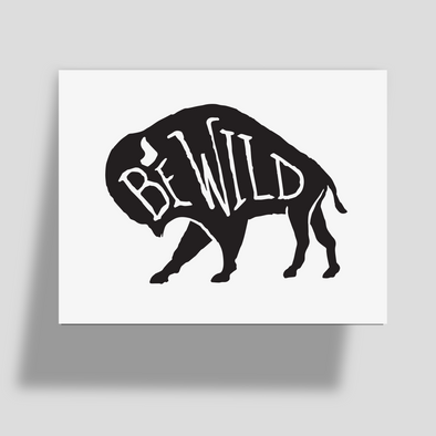 Be Wild Greeting Card