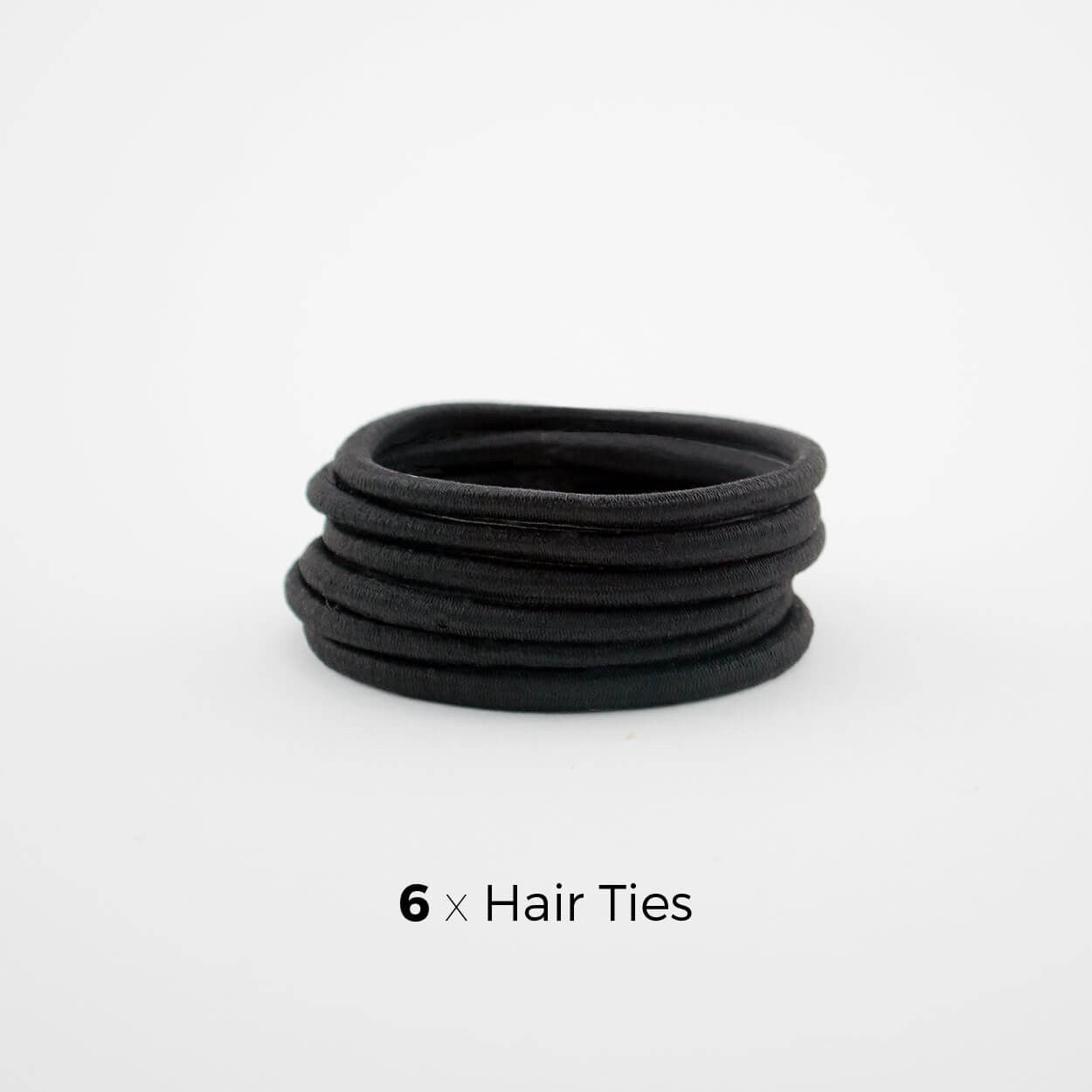 Black Hair Tie Subscription