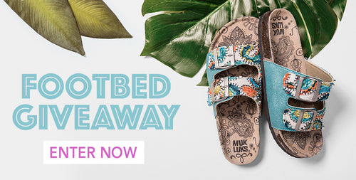 Enter the footbed contest!