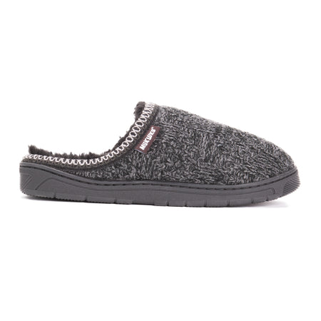 Men's Gabriel Clog Slippers - Black - MUK LUKS