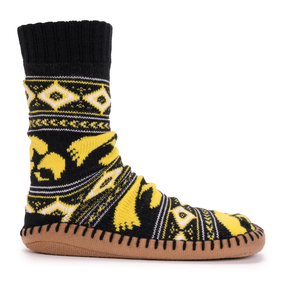 Women's Game Day Slipper Socks - Iowa - MUK LUKS