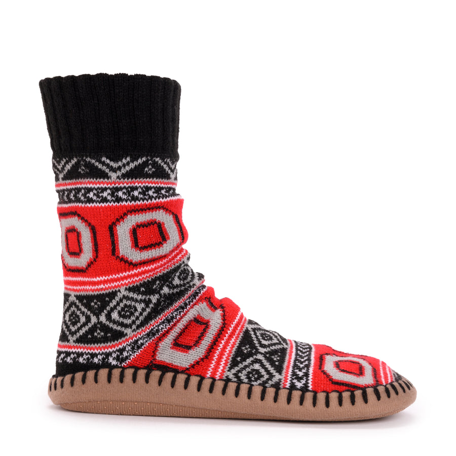 Women's Game Day Slipper Socks - Ohio State - MUK LUKS