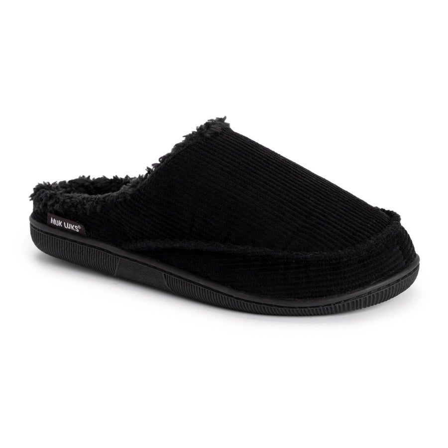 Men's Corduroy Clog Slippers - MUK LUKS