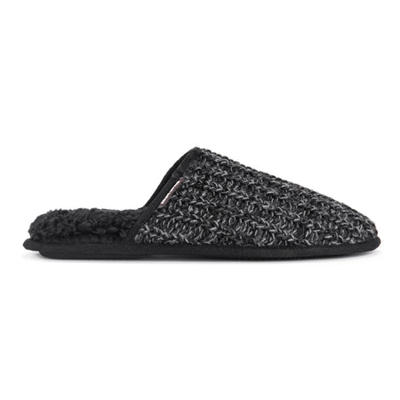 Men's Gavin Scuff Slippers - Black - MUK LUKS