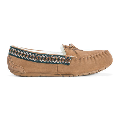 Women's Jane Genuine Suede Moccasin - MUK LUKS