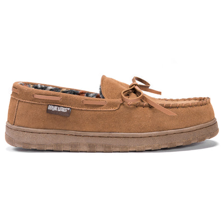 Paul - Men's Printed Berber Suede Moccasin - MUK LUKS