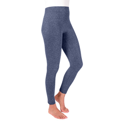 Women's 1-Pair Fleece Lined Marled Leggings - MUK LUKS