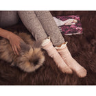 Women's 3 Pair Pack Lace Top Boot Socks - MUK LUKS