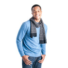 Men's Pattern Scarf - MUK LUKS