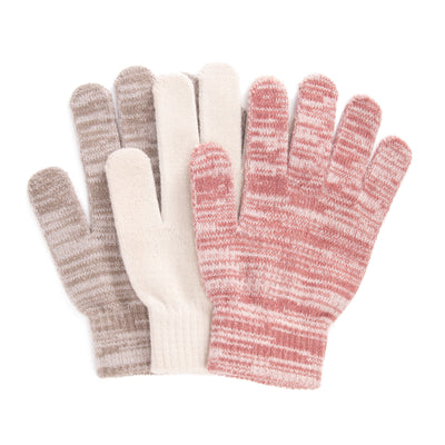 Women's 3 Pack Gloves - MUK LUKS