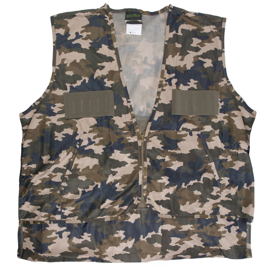 Camo Hunting Vest with Game Bag - MUK LUKS