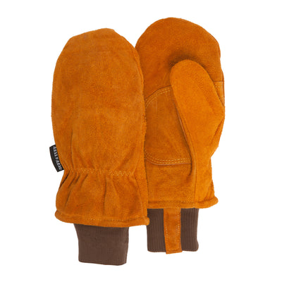 Split Leather Thinsulate Mitten - MUK LUKS