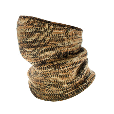 Classic Knit Neckup - Adventure Brown - MUK LUKS