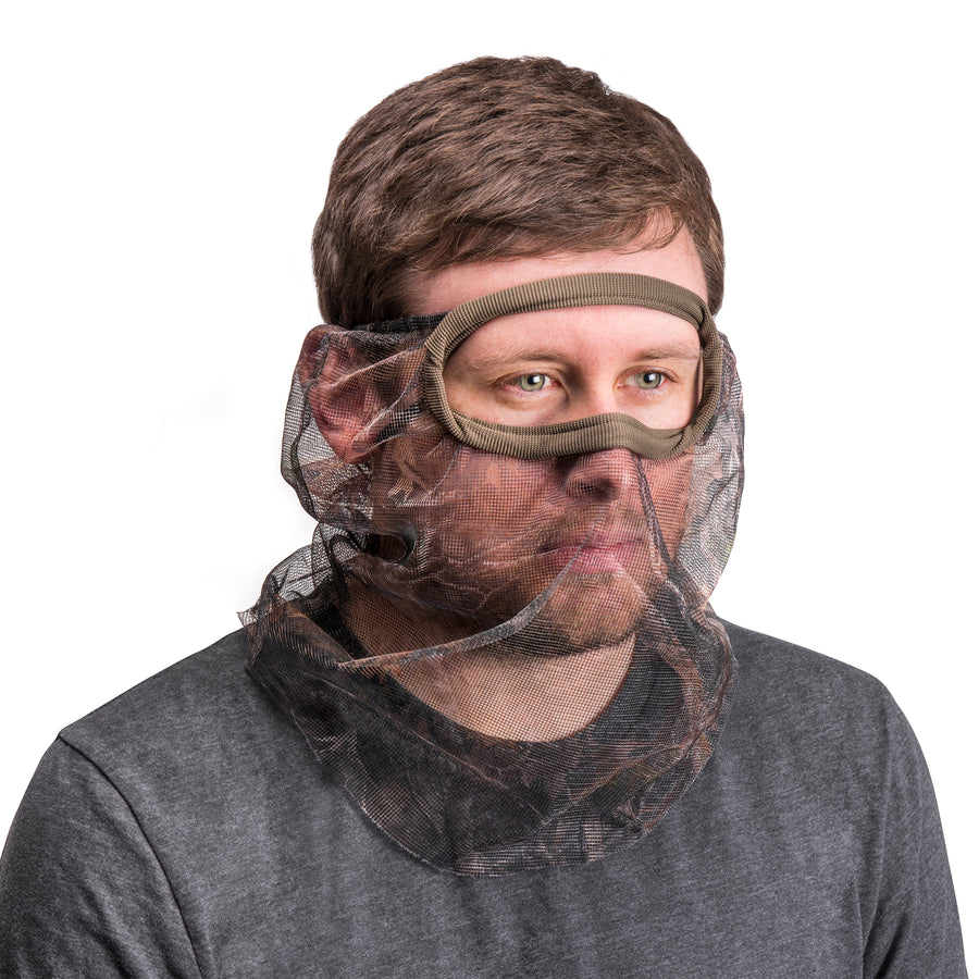 Men's 3/4 Wire Frame Mesh Facemask - MUK LUKS
