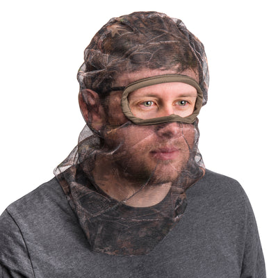 Men's Full Cover Form Fit Mesh Facemask - MUK LUKS
