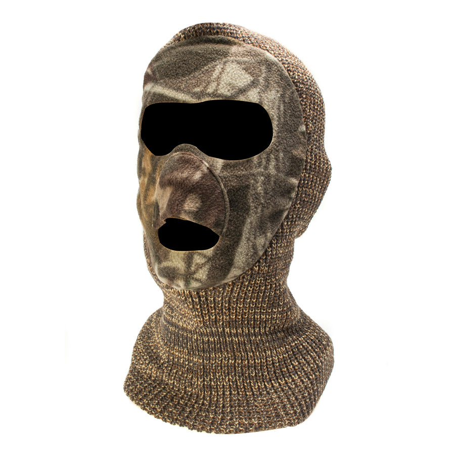 Youth Knit and Fleece Patented Mask