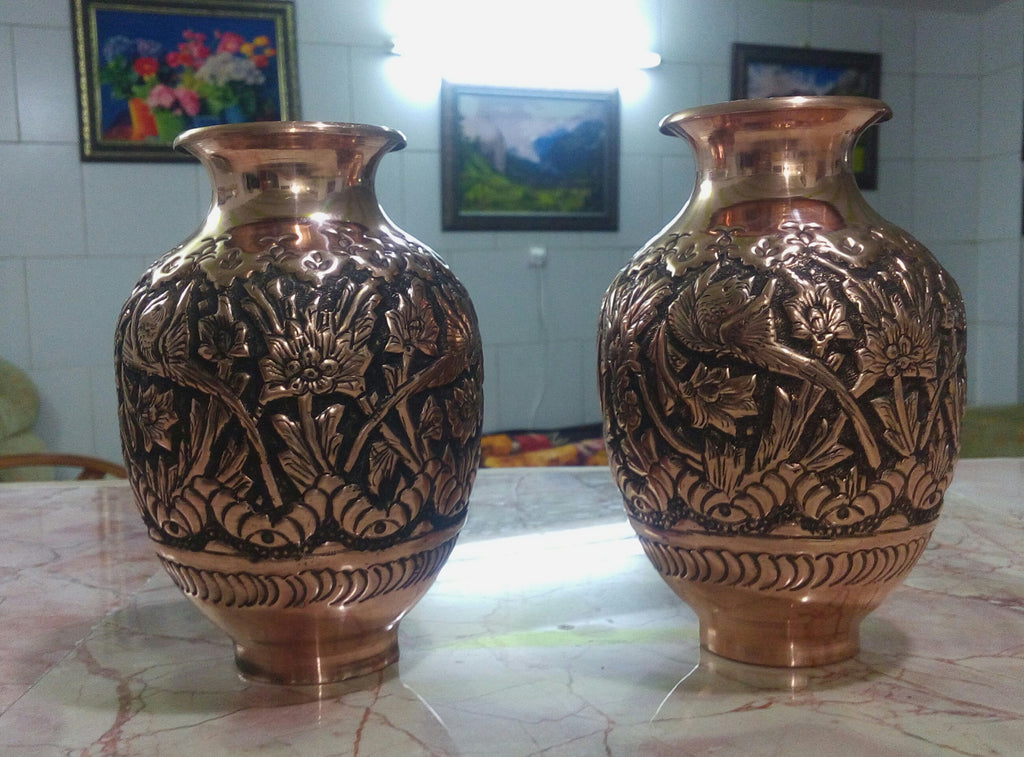 Persian Copper Vases On Sale Persiana Shop