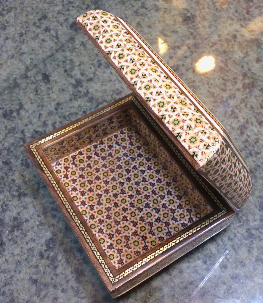 Persian Wood Jewelry Box