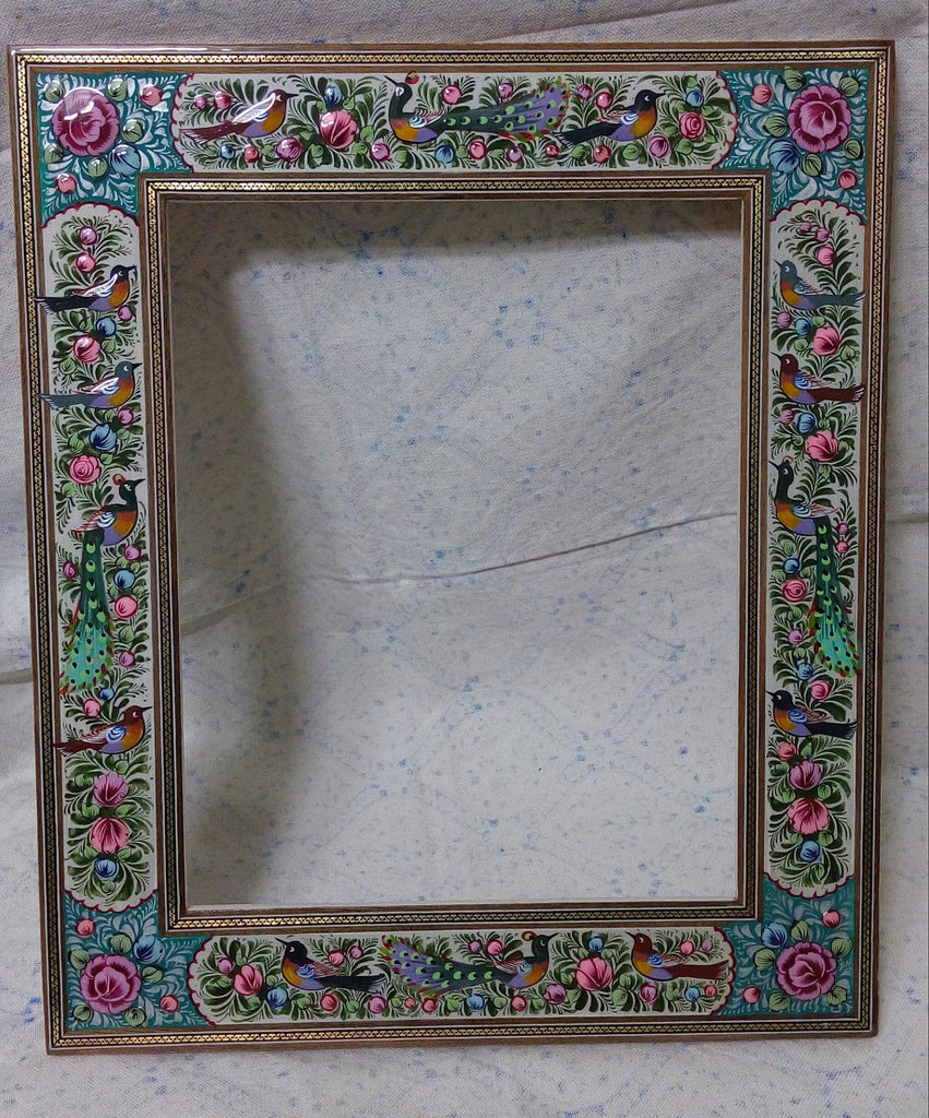 Handmade Persian Wood Picture Frame 24 X 30 Cm Mirror Frame