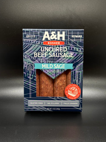 A & H Reduced Fat & Sodium Salami 12 oz.