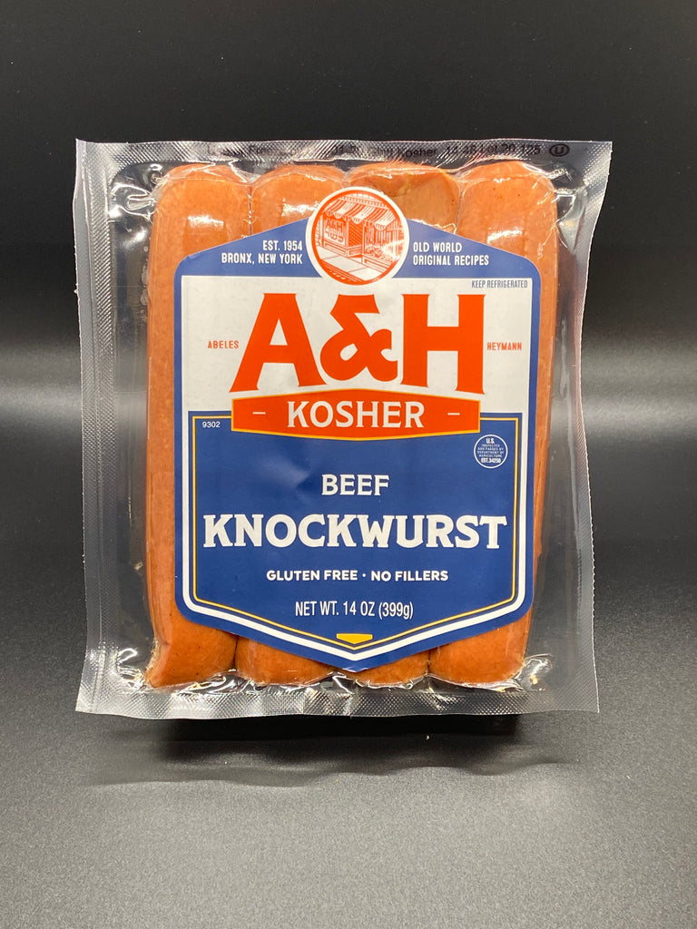 A & H Beef Knockwurst 14 oz.