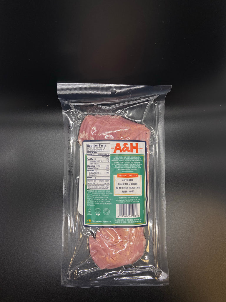 A & H Kosher Sliced 1st Cut Corned Beef 6 oz.