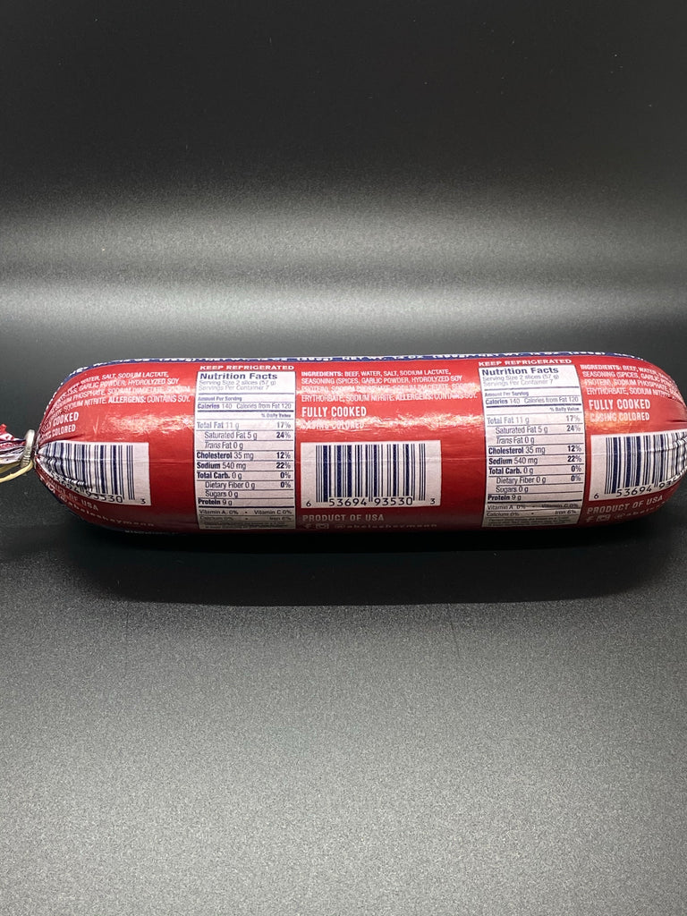 A & H All Beef Kosher Salami 14 oz.