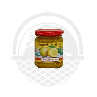 Achard de citron Royal Bourbon 200g