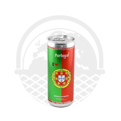 Boisson Energy drink Portugal canette 250ml