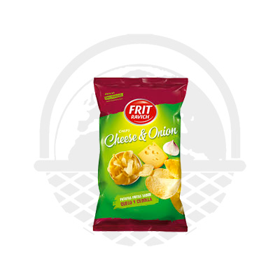 Chips au fromage et oignons Frit Ravich 125g