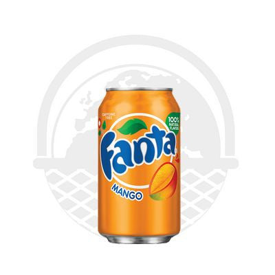 Soda Fanta mangue 355ml - Panier du Monde