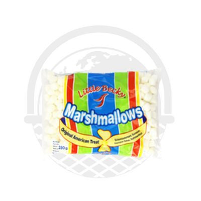 Minis chamallows blancs Little Becky 280g