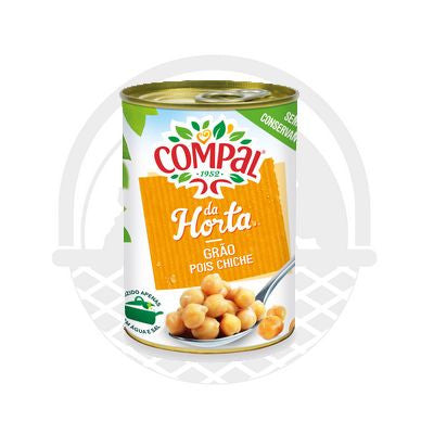 "Pois chiches Cuits ""Compal"" 845g"
