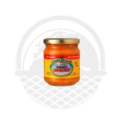 Sauce Antillaise Dame Besson 210 ml