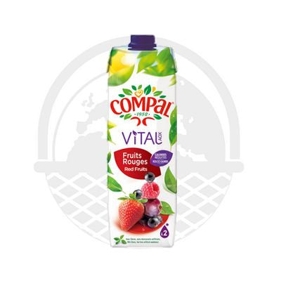 Jus VITAL fruits rouges Compal 1L - panier du monde