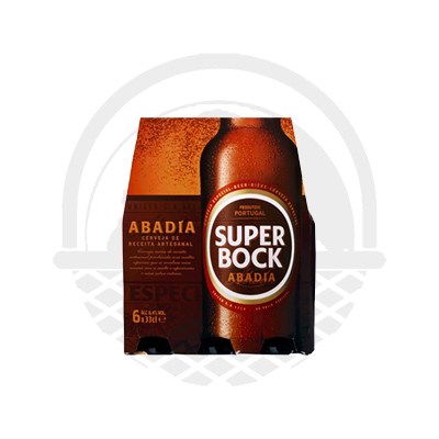Biere SUPER BOCK ABADIA pack 6 x 33cl 6,4