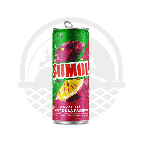 Sumol Fruit de la passion canette 33cl boisson gazeuse