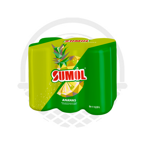 Canette Sumol Ananas 6x33cl