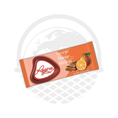 Tablette de chocolat au lait et à l'orange REGINA 100G