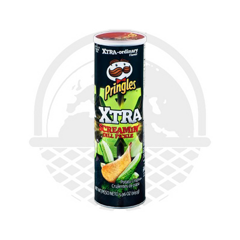 Pringles Xtreme screamin Dill Pickles chips 169g