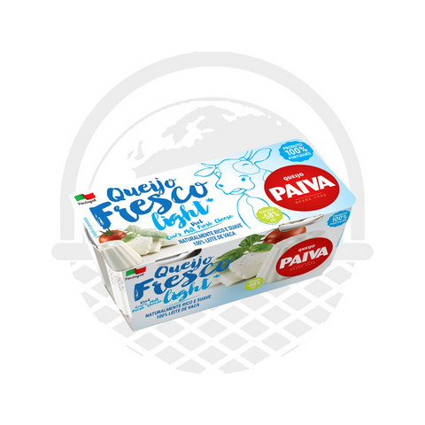 Fromage frais light Paiva 2 x 62,5 G