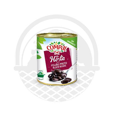 "Haricots Noirs Cuits ""Compal"" 845gr"