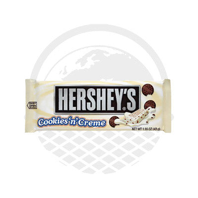 "Barre chocolatée Cookies and Cream ""Hershey's"" 43g - Panier du Monde"