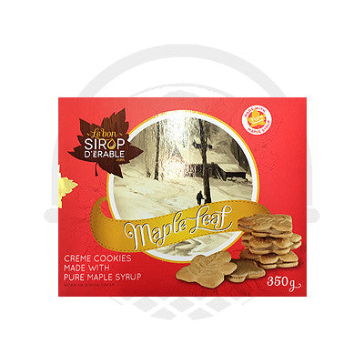 Biscuit feuille érable cookies 350g