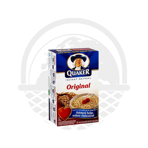 Oatmeal flocons d'avoine sachets Nature 340g