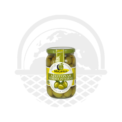 OLIVES VERTES ENTIERES MACARICO 210G