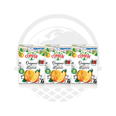 COMPAL CLASSIC Orange de l'algarve brick 3 x 20cl