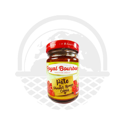 Pâte piment de cabri rouge Royal Bourbon 90G